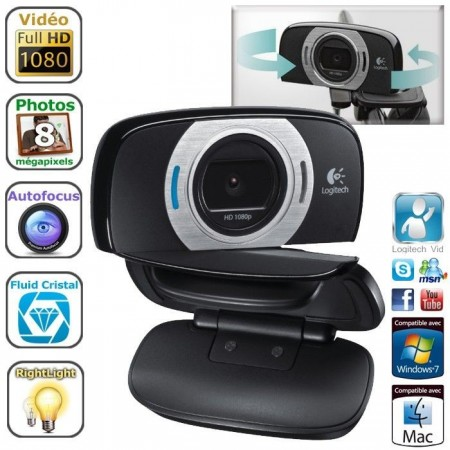 Webcam HD 1080p Logitech C615