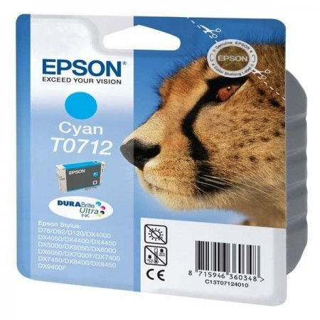 Epson cartouche T0712 Cyan