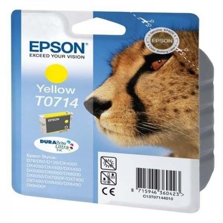 Epson cartouche T0714 Jaune