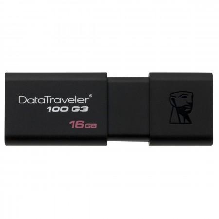 Clé USB 3.0 16 Go Kingston DataTraveler 100 G3 - DT100G3/16GB
