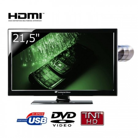 Continental Edison 215V3 TV LED Combo DVD