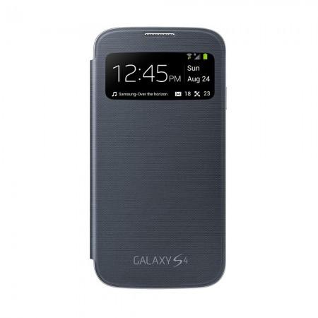 Coque S-View Cover pour SAMSUNG Galaxy S4 - Noir - EF-C1950BBEGWW