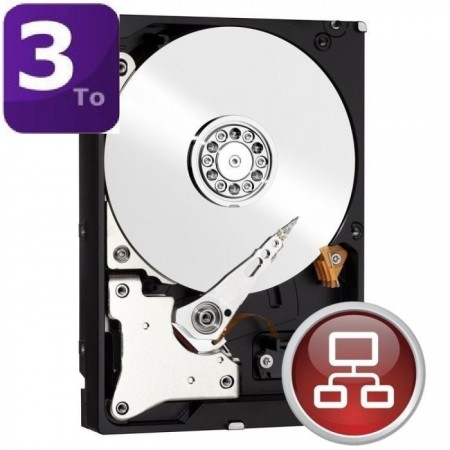 Western Digital Red 3To 64Mo 3.5
