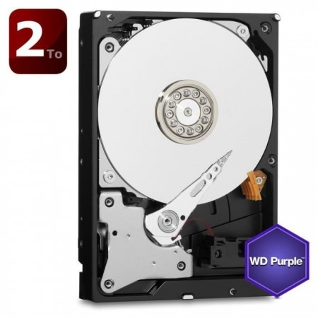 Western Digital Purple 2To 64Mo 3.5
