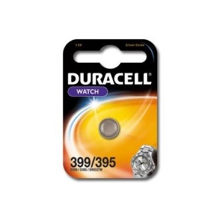 Pile de montre 395/399 DURACELL - Blister de 1 - SR926SW - Oxyde d'argent