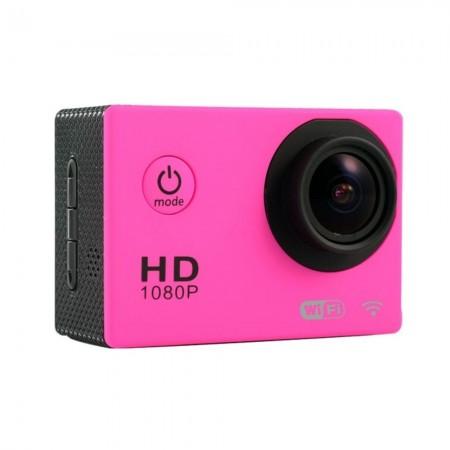 Caméra Sport SJ4000 WiFi - Etanche Full HD - Rose