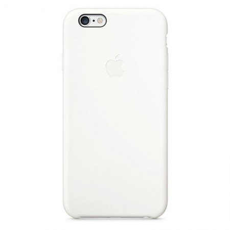 Coque en Silicone Apple pour iPhone 6 - MGQG2ZM/A - Blanche