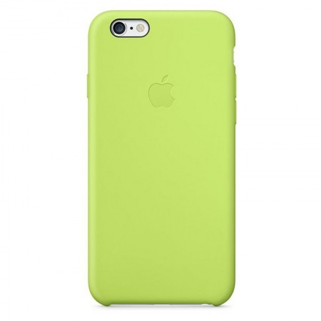Coque en Silicone Apple pour iPhone 6 - MGXU2ZM/A - Verte