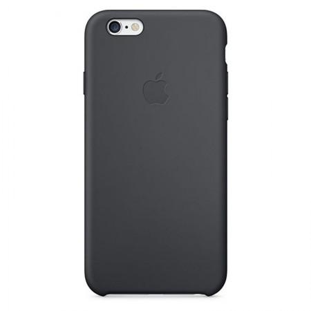 Coque en Silicone Apple pour iPhone 6 - MGQF2ZM/A - Noire