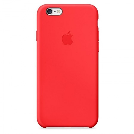 Coque en Silicone Apple pour iPhone 6 - MGQH2ZM/A - Rouge