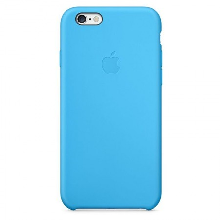 Coque en Silicone Apple pour iPhone 6 - MGQJ2ZM/A - Bleue