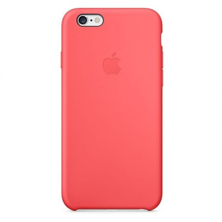 Coque en Silicone Apple pour iPhone 6 - MGXT2ZM/A - Rose