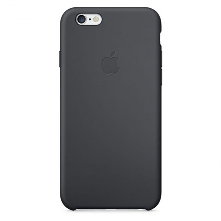 Coque en Silicone Apple pour iPhone 6 Plus - MGR92ZM/A - Noire