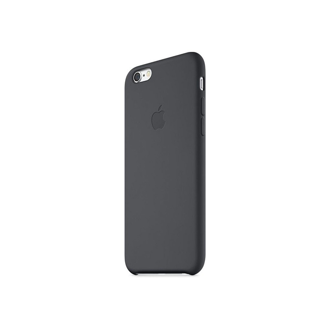 coque en silicone apple pour iphone 6 plus mgr92zma noire