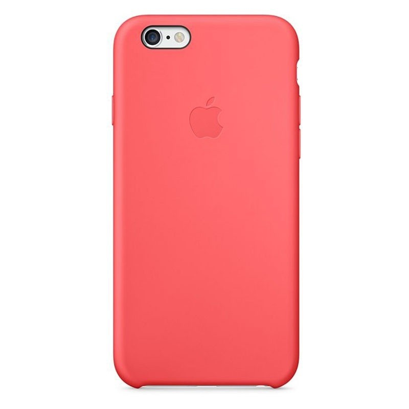 coque en silicone apple pour iphone 6 plus mgxw2zma rose