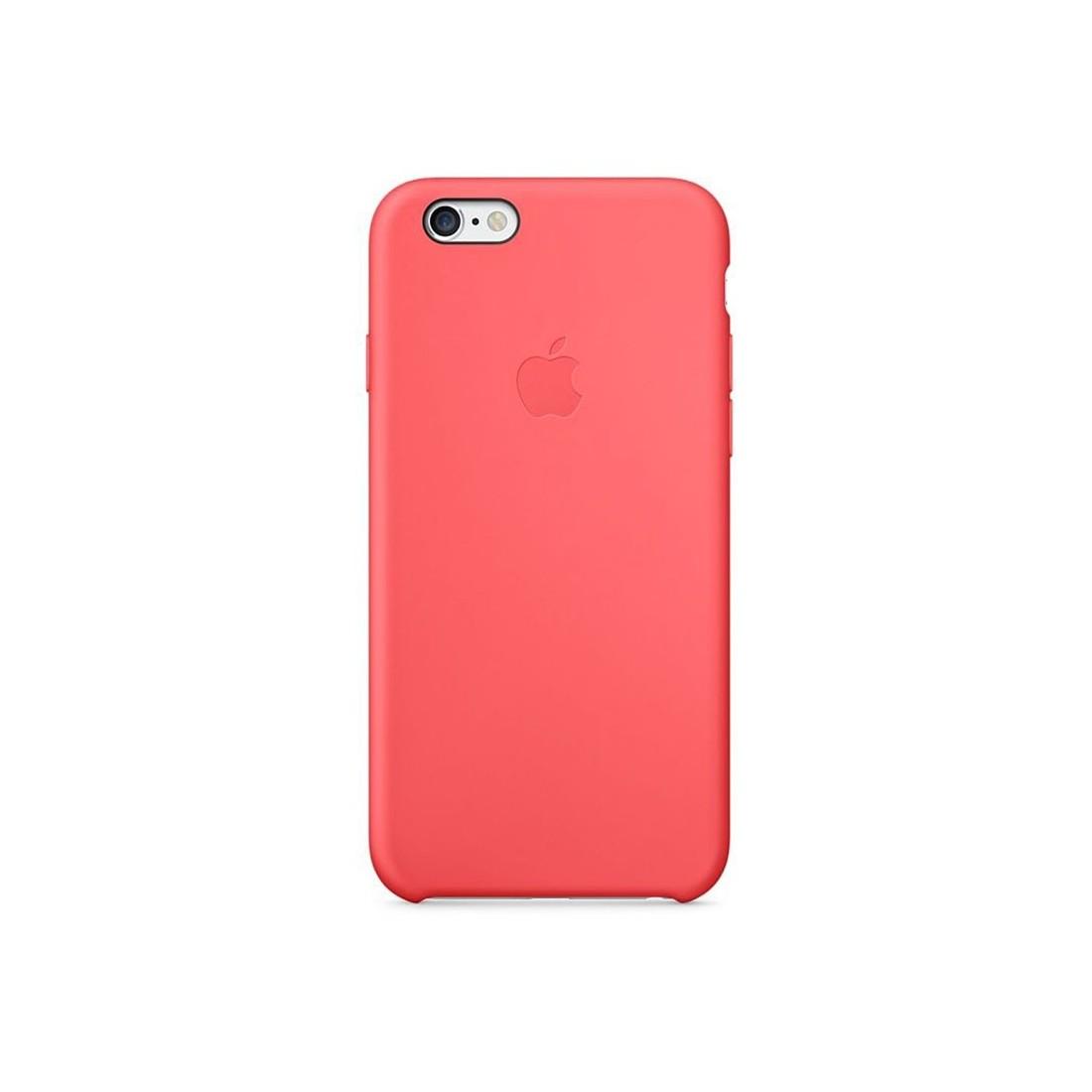 Coque en Silicone Apple pour iPhone 6 Plus - MGXW2ZM/A - Rose - Le ...