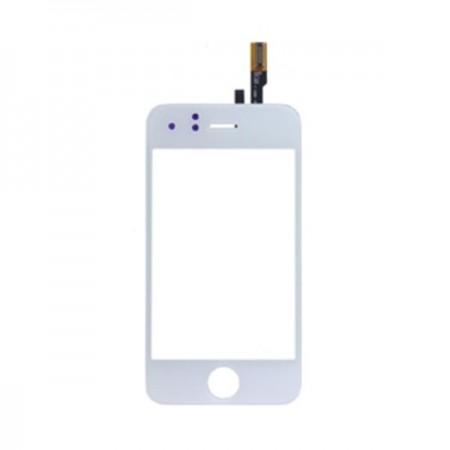 Vitre tactile pour IPHONE 3G blanc