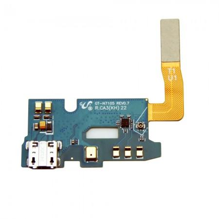 Nappe connecteur de charge pour GALAXY NOTE 2 4G - N7105
