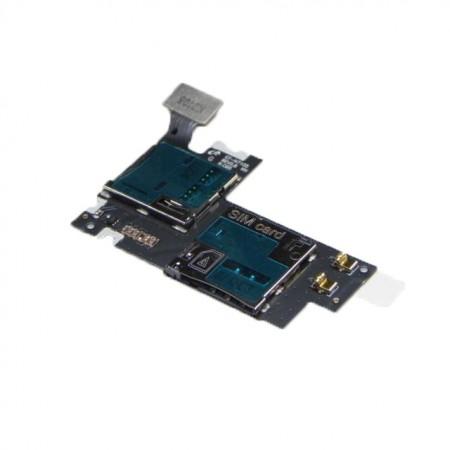 Lecteur SIM + Micro SD pour GALAXY NOTE 2 4G - N7105