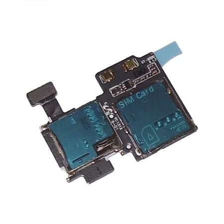 Lecteur SIM + Micro SD pour GALAXY S4 - I9500