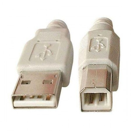 Cable USB 2.0 type AB M/M 1,8m