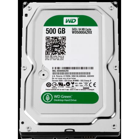 """Western Digital Green 3,5"""" / 500Go / 64Mo - WD5000AZRX"""