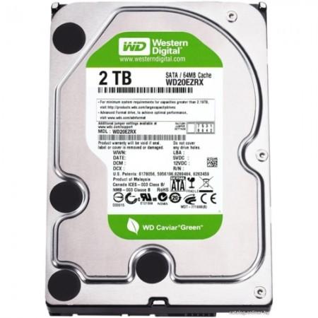 """Western Digital Green 3,5"""" / 2000Go / 64Mo - WD20EZRX"""