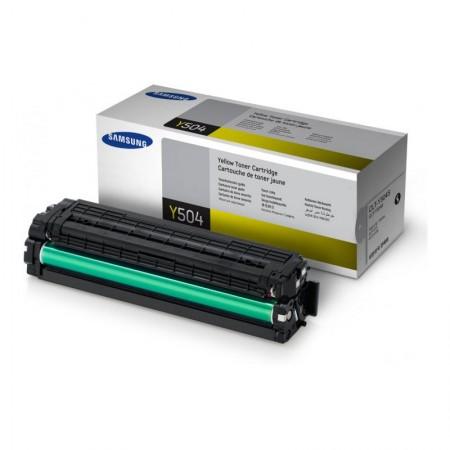 Toner Jaune Samsung CLT-Y504S - 1800 pages