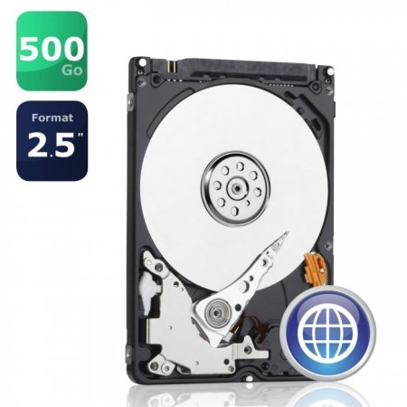 """Disque dur interne Western Digital Blue 2,5"""" - 500Go - WD5000LPCX"""