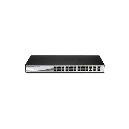 Switch PoE D-Link 24 Ports 10/100Mbits/s + 2 SFP + 2 GIGABIT - DES-1210-28P