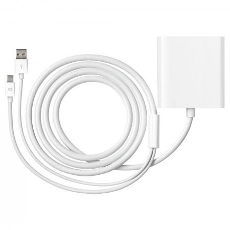 Adaptateur Mini DisplayPort vers DVI double liaison Apple