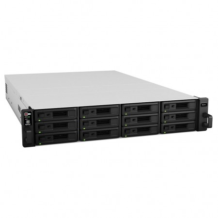 Serveur NAS 12 baies hautes performances évolutif (Rack 2U)