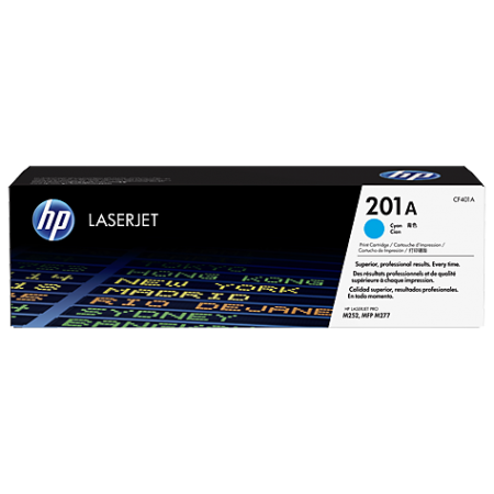 Toner Cyan HP 201A - CF401A - 1400 Pages