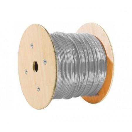 Câble Double Monobrin F/FTP CAT6A LS0H GRIS - 500M