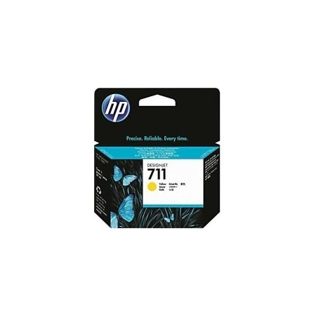 Cartouche d'encre Jaune HP 711 - 29ml - CZ132A