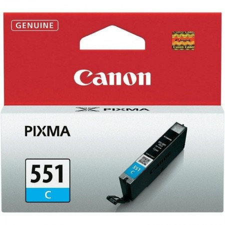 Cartouche Canon CLI-551C - Cyan - 298 pages