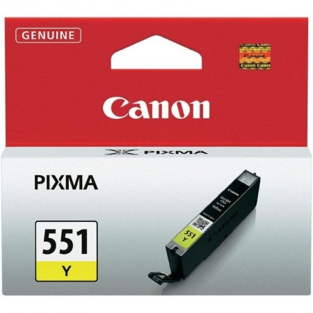Cartouche Canon CLI-551Y - Jaune - 298 pages