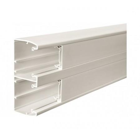 Goulotte 134x55 K45 pvc - lg 2m - blanc