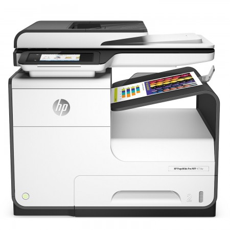 Imprimante multifonction jet d'encre HP PageWide Pro 477dw 4-en-1 couleur recto/verso automatique (Wifi/USB 2.0/Ethernet)