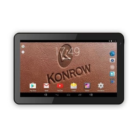 Tablette Android Konrow K-TAB 1000+ - 10.1'' - 8Go - Android 4.4 KitKat - Wifi - Noire