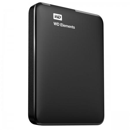 """Disque dur externe USB3 WESTERN Elements 2,5"""" - 500Go - WDBUZG5000ABK-EESN"""