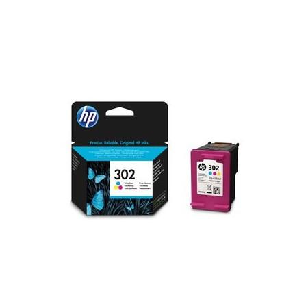 Cartouche 3 couleurs HP 302 - F6U65AE