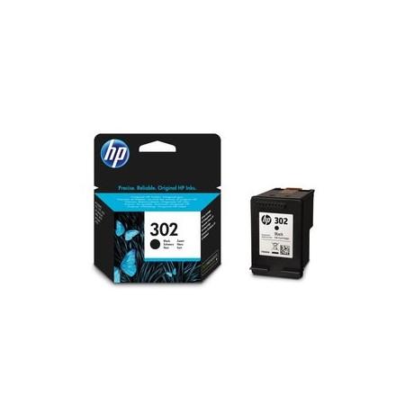 Cartouche d'encre HP 302 Noir - F6U66AE