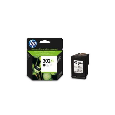 Cartouche d'encre HP 302 XL Noir - F6U68AE