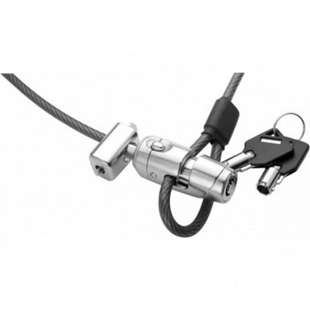 Câble antivol DACOMEX Clip-Câble à clé 1.80m