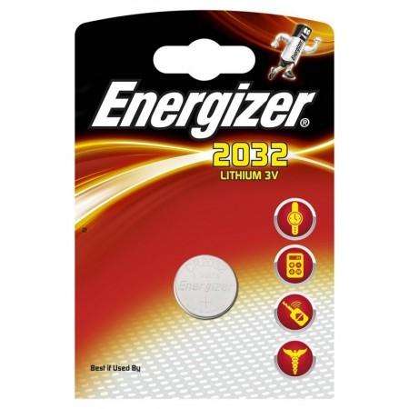 Pile électronique CR2032 ENERGIZER - Blister de 1 - Lithium 3V - 240mAh