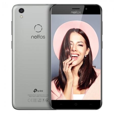 """NEFFOS C7 GRIS CIEL 5,5"""" / 4G-LTE Dual SIM / 8-Core 1.5 GHz / 2 Go / 16 Go"""