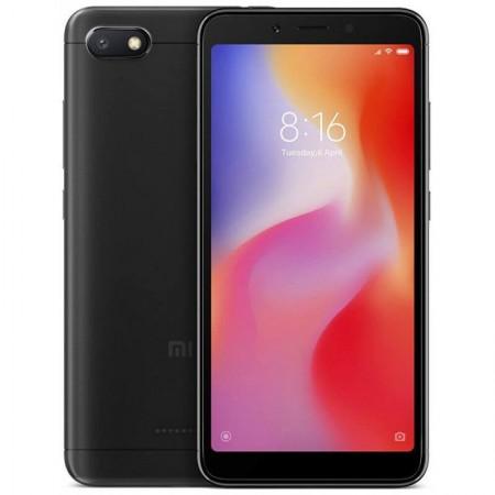 """Xiaomi Redmi 6A - 5,45"""" - 4G - Androïd 8.1 - Double Sim - 16Go - 2Go RAM - Noir"""