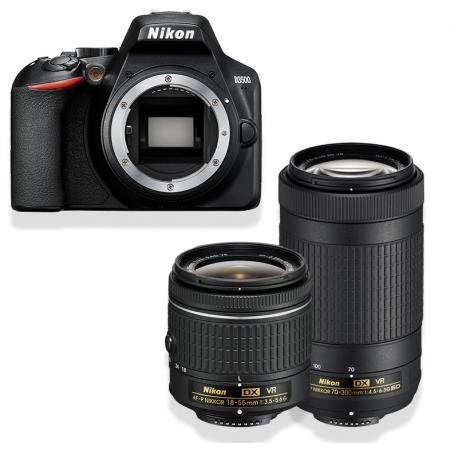 Nikon D3500 + AF-P DX 18-55 VR + AF-P DX 70-300 VR Noir
