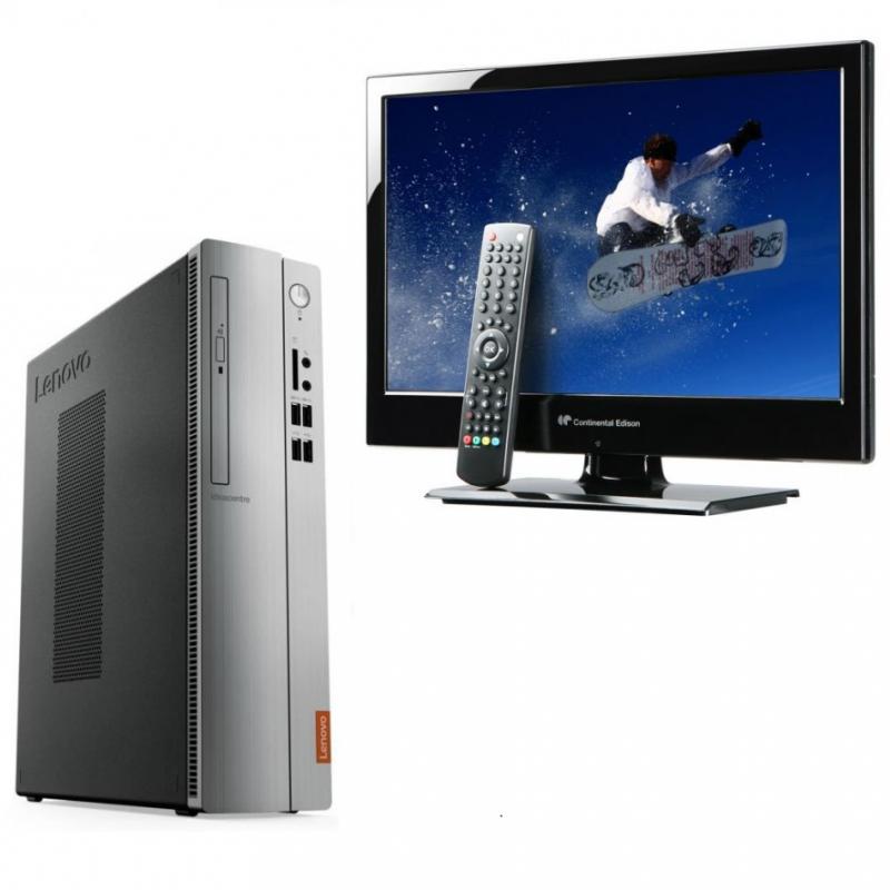 "Pack PC + TV 18,5"""